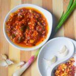 Homemade schezwan sauce recipe | How to make schezwan sauce at home