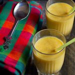Mango almond milkshake recipe | how to make mango almond milkshake