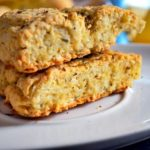 Eggless cheddar scone recipe | how to make cheddar scone