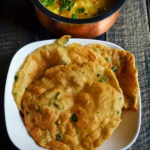 Methi Puri Recipe (How To Make Methi Poori)