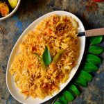 Tomato rice recipe | how to make tomato rice recipe | South Indian tomato rice recipe