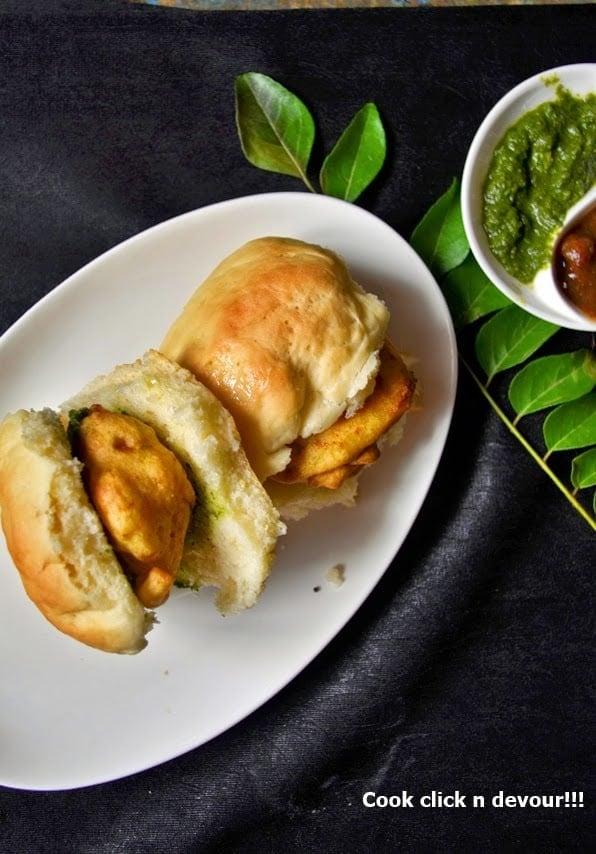 Vada pav recipe, Mumbai wada pav