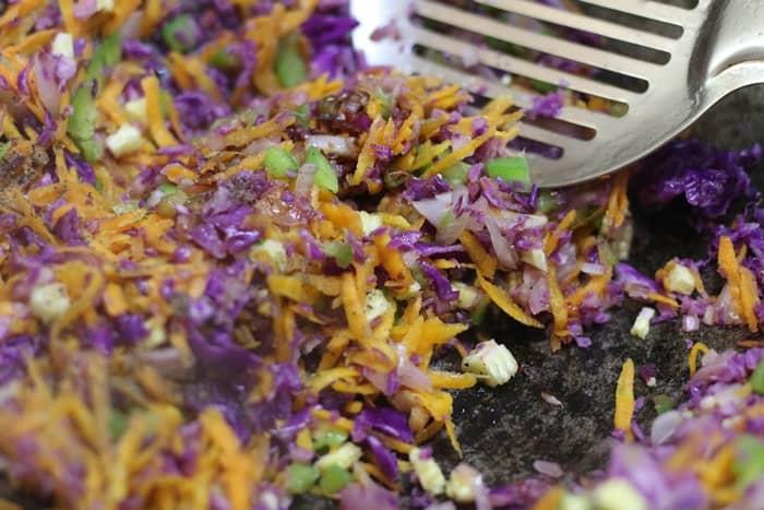 veg filling for veg momos recipe