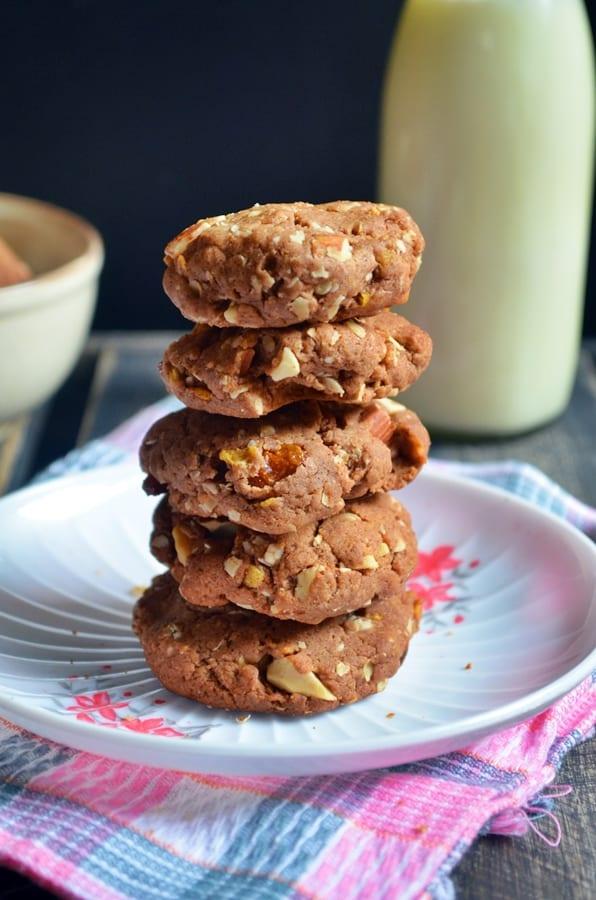 eggless breakfast cookies recipe3