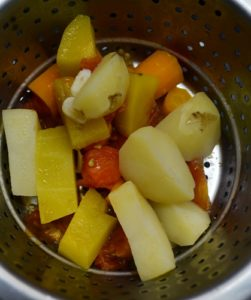 mixed vegetable soup step4