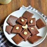 Quick Chocolate Burfi Recipe | How To Make Chocolate Burfi
