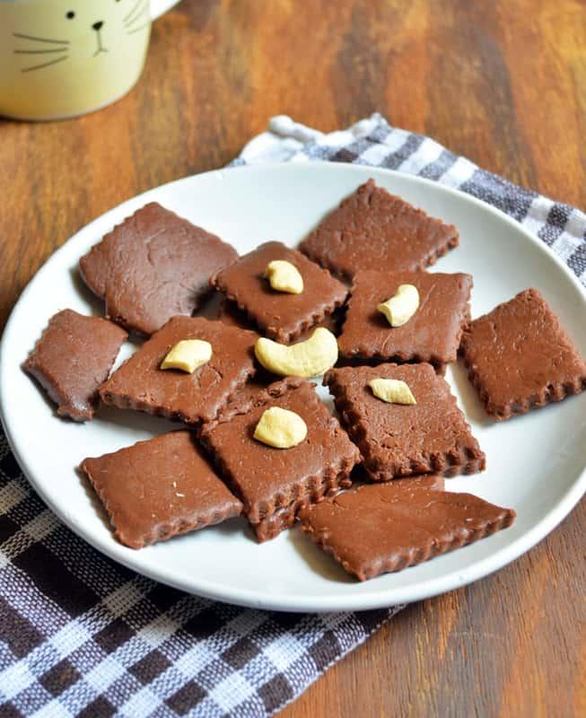 quick chocolate burfi recipe2
