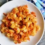 Mac n veggie n cheese recipe