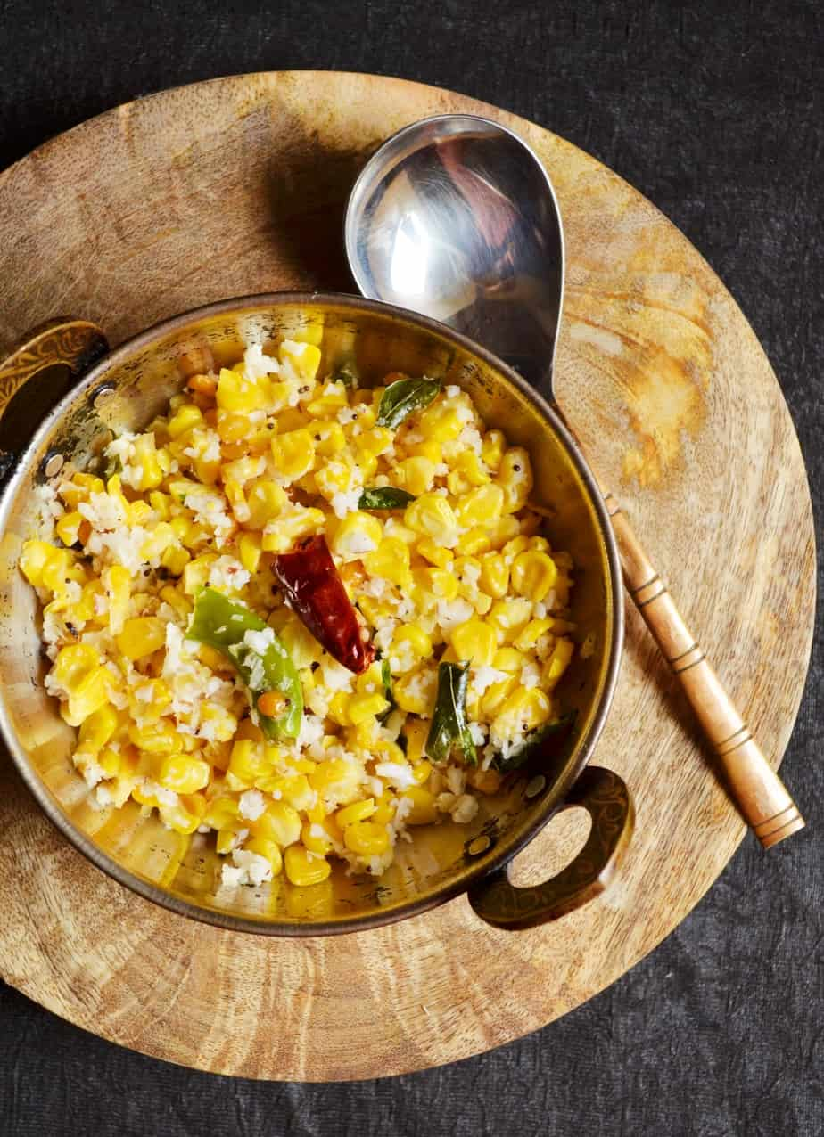 sweet corn sundal recipe 1