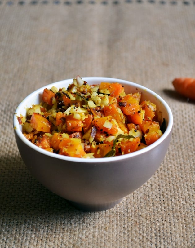 carrot podi curry recipe1