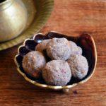 Sathu mavu ladoo recipe | Easy millet ladoo recipe | Healthy toddler snack recipes