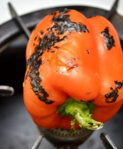 Roasted bell pepper soup step 2