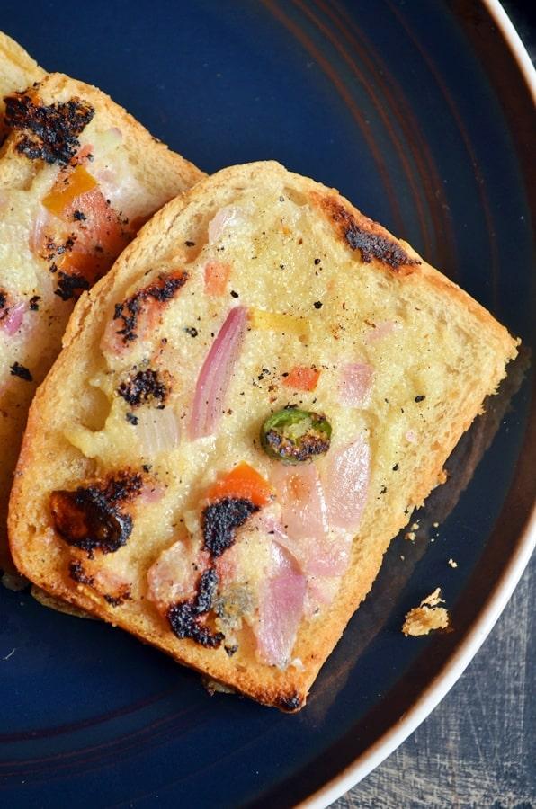 bread sooji toast recipe