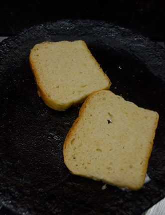 how to make bread toast indian