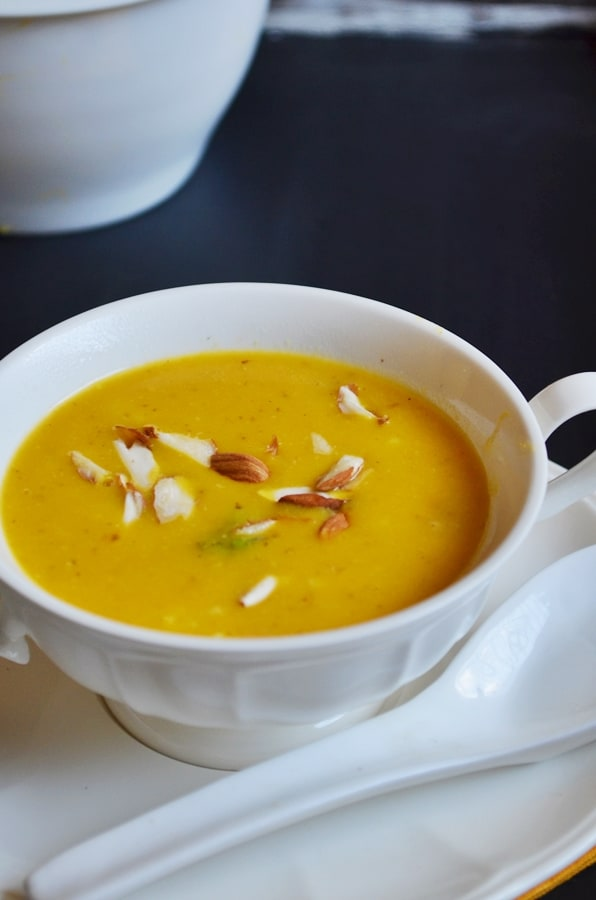 carrots almond oats soup recipe3