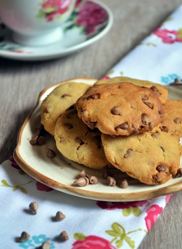 egg less chocolate chip cookie recipe3