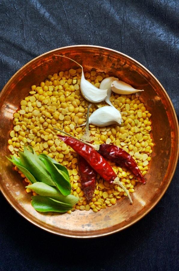 garlic rasam ingredients