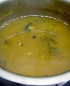 garlic rasam step 6