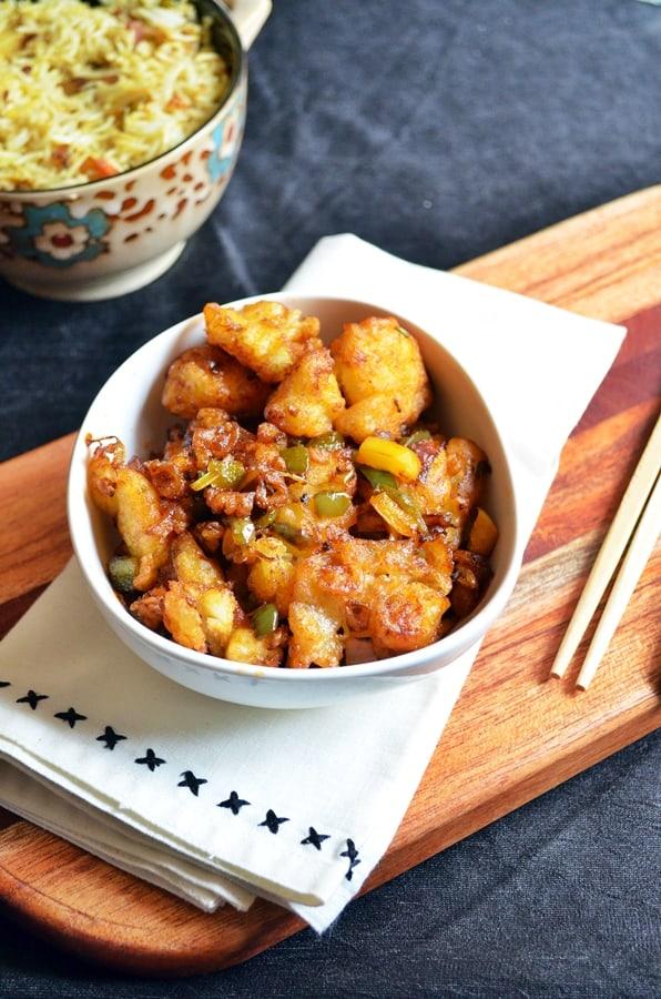 gobi manchurian dry recipe 2
