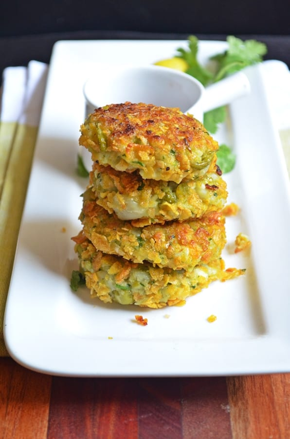 peas paneer cutlet recipe4
