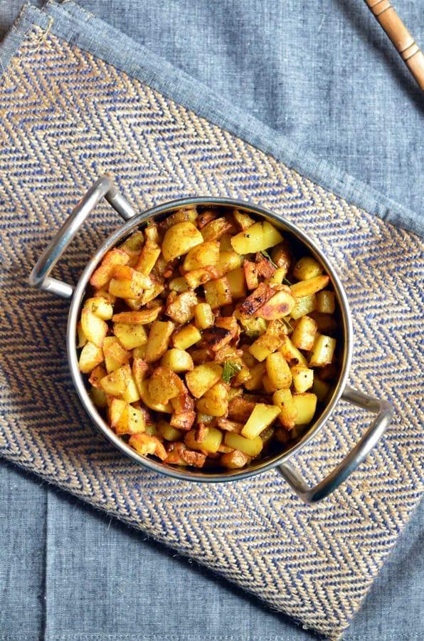 potato podi curry recipe