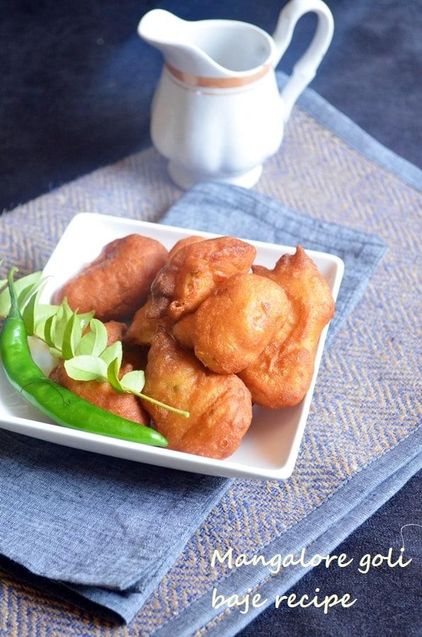 Mangalore goli baje recipe