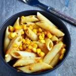 Butter Corn Pasta Recipe | Creamy Corn Pasta Recipe