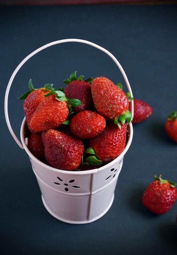 Homemade strawberry jam 1