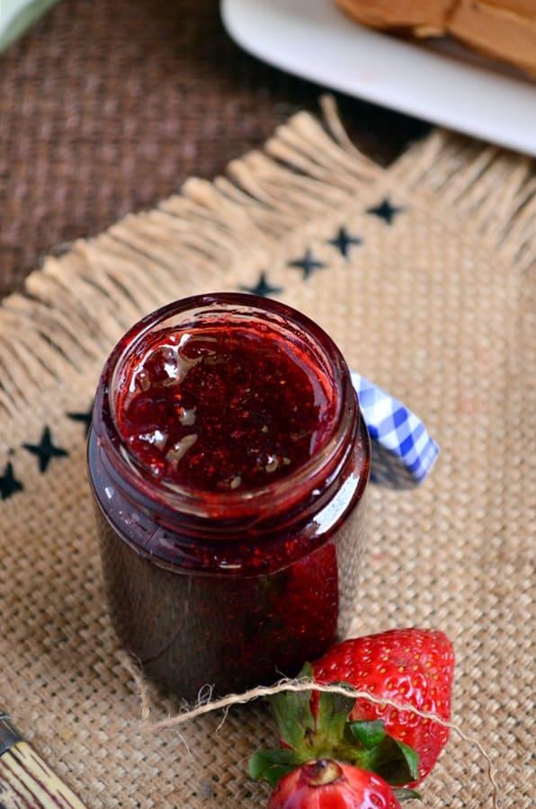 Homemade strawberry jam recipe3