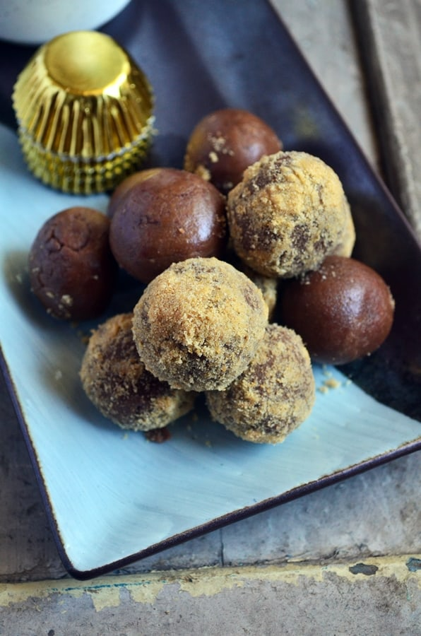 chocolate biscuit balls recipe4