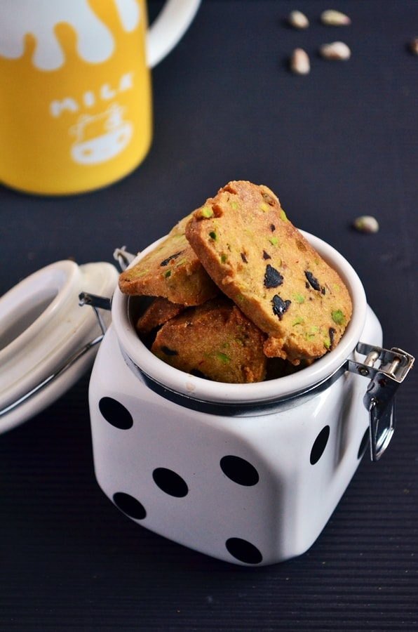 pistachio cranberry shortbread recipe4