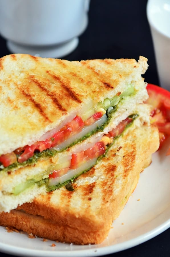 Best Bombay Veg Sandwich Recipe Cook Click N Devour