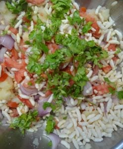 bhel puri recipe step 2