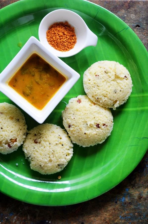 how to make rava idli