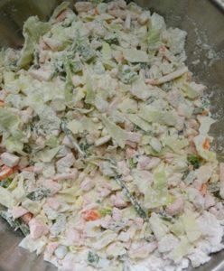 veg manchurian gravy step2