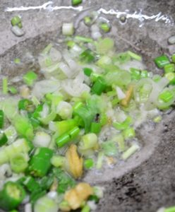 veg manchurian gravy step5