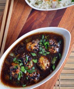 veg manchurian gravy step9