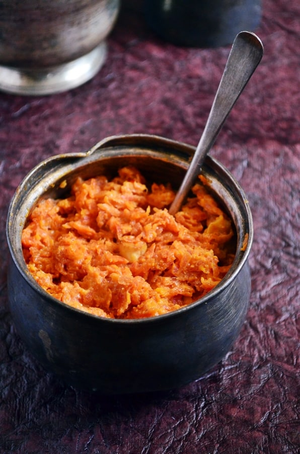carrot halwa recipe-easy and quick