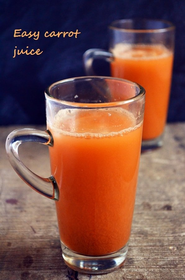 easy carrot juice