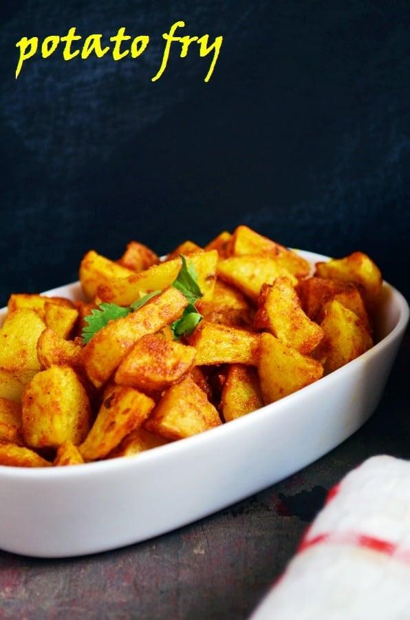 easy potato fry recipe
