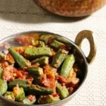 Bhindi masala recipe, how to make bhindi masala recipe | Okra masala recipe