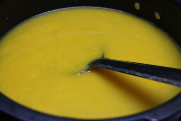 carrot soup step 8