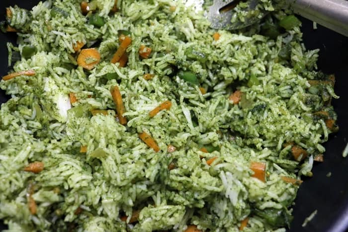 cilantro rice step19