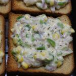 corn cheese toast step9