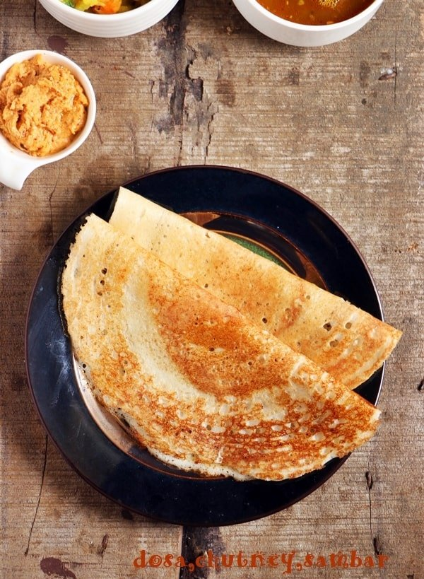 dosa recipe, crispy dosa recipe