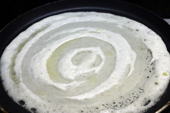 dosa recipe making