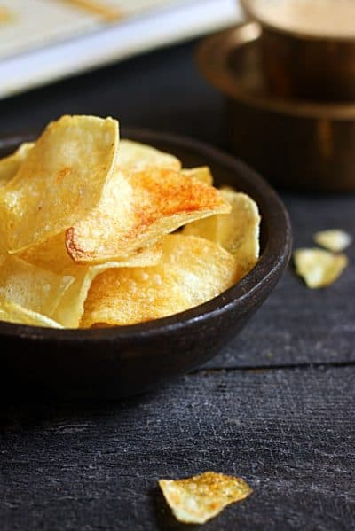 Potato chips recipe, homemade potato chips recipe