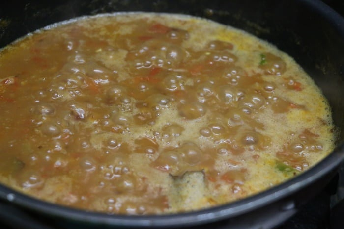 simmering rajma masala recipe