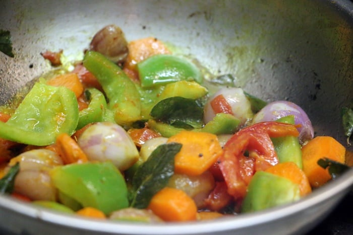 making sambar recipe