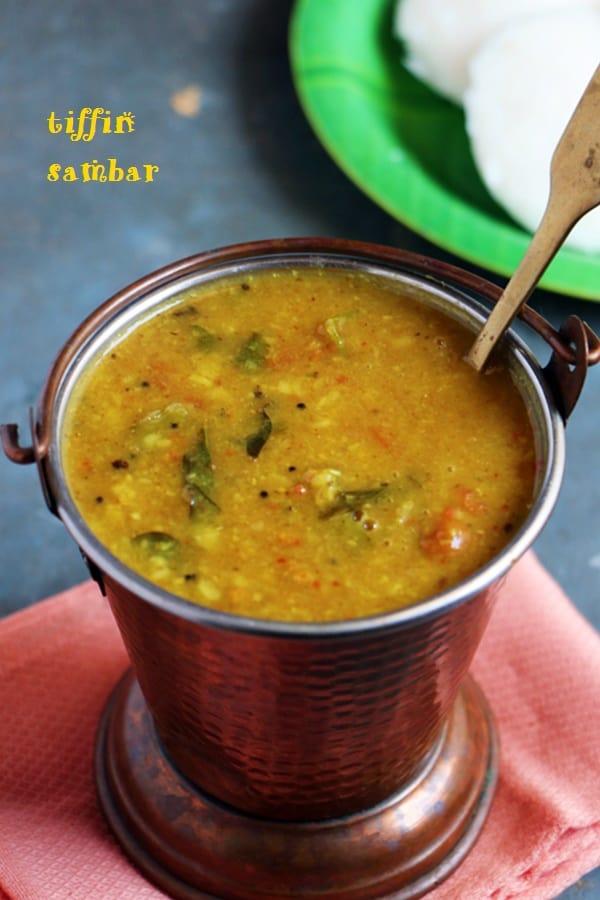 tiffin sambar recip